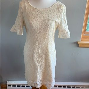 TULLE Ivory Lace Dress